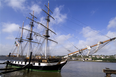 Dunbrody Famine Ship - Newross, Wexford only 20 mins from Inistioge