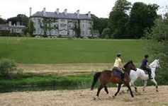 Horse riding lessons for adults and kids at Mount Juliet Kilkenny